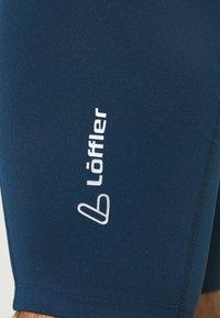 LÖFFLER - BIKE SHORT BASIC - Punčochy - deep water - 4