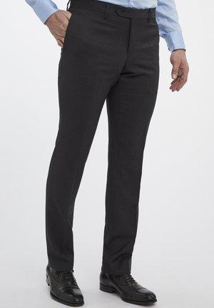 SPLIT BUCK NOOS - Suit trousers - antra