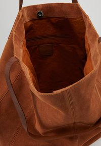 Anna Field - LEATHER - Shopping bag - cognac - 4