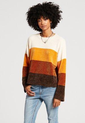BUBBLE TEA - Sweater - brown