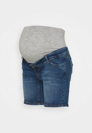 MLSAVANNA - Denim shorts - medium blue denim