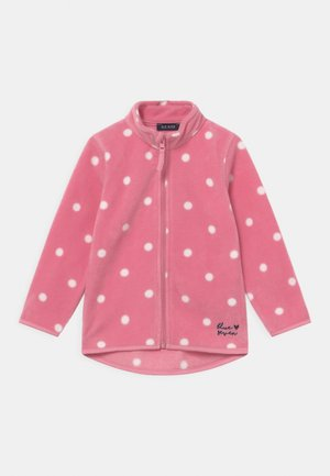 KIDS GIRLS  - Fleece jacket - mauve