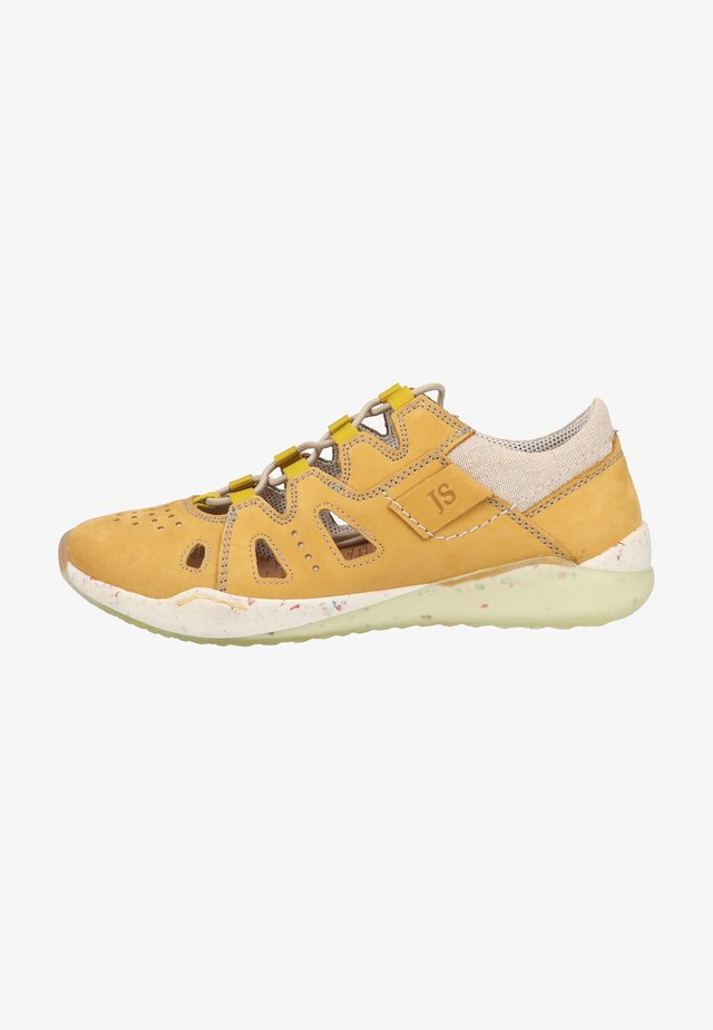 Sneakersy niskie - safran-kombi