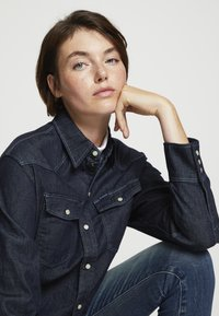 G-Star - WESTERN RELAXED  - Button-down blouse - raw denim - 4