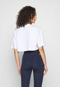 Fila - BARR - T-shirt z nadrukiem - bright white - 2