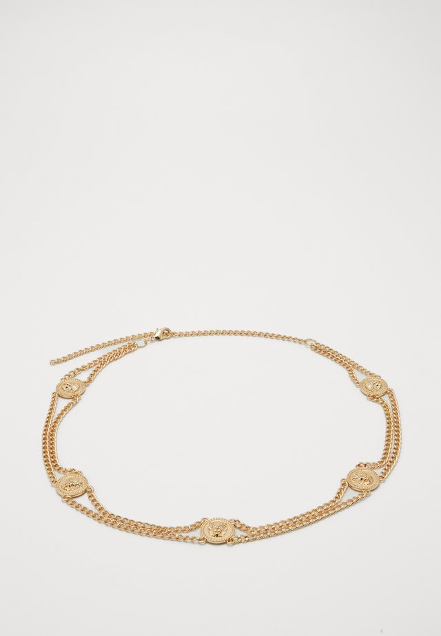 PCLIONA WAIST CHAIN BELT KEY - Waist belt - gold-coloured