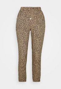 New Look Petite - ANIMAL PRINTED JOGGER - Trousers - brown - 0