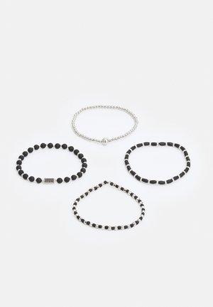 4 PACK - Bracelet - black
