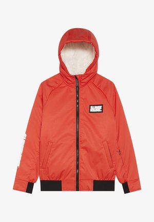 GIRLS THIN JACKET - Snowboardová bunda - neon red