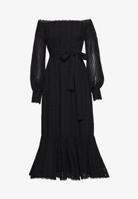 Stevie May - GOOD TIMES MIDI DRESS - Day dress - black anglaise - 0