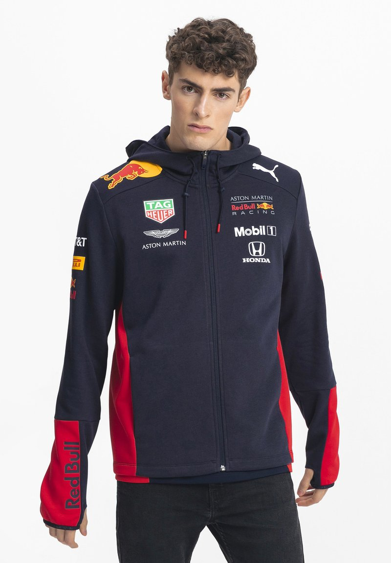 Puma - RACING TEAM - Felpa con cappuccio - night sky