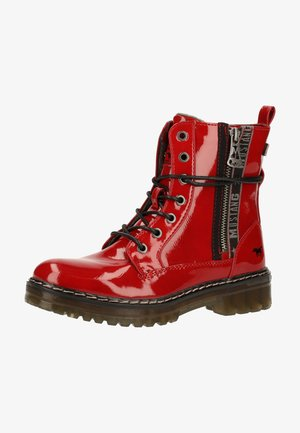 Veterboots - rot 5