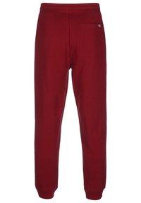 Tommy Jeans - TAPE  - Pantalon de survêtement - winered - 2