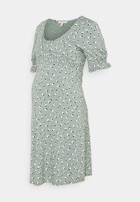 Esprit Maternity - DRESS NURSING - Jersey dress - grey moss - 0