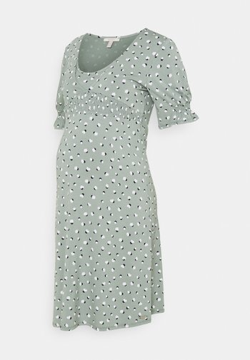 DRESS NURSING - Jerseyjurk - grey moss