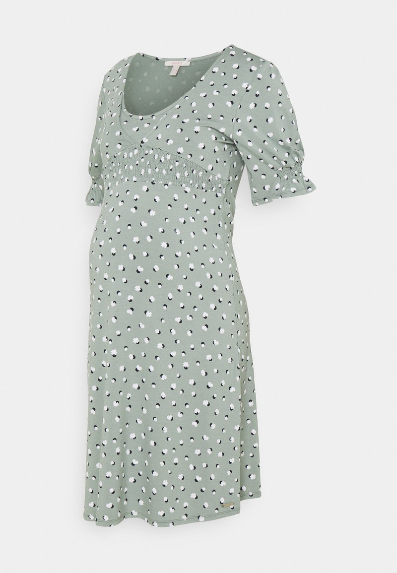 Esprit Maternity - DRESS NURSING - Jersey dress - grey moss