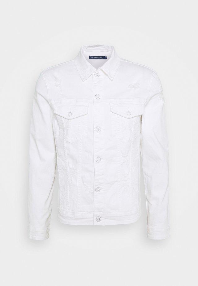 GIU - Denim jacket - white