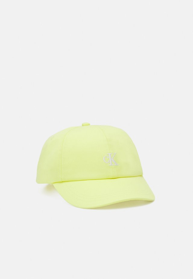 MONOGRAM BASEBALL UNISEX - Kšiltovka - yellow lime