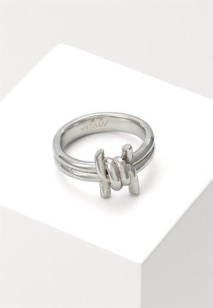PERMITER UNISEX - Pierścionek - silver-coloured