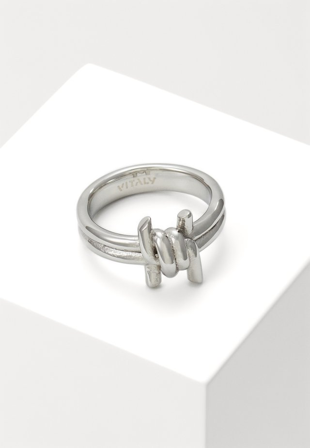 PERMITER UNISEX - Bague - silver-coloured