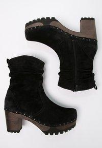 Softclox - BOOTIE - Platform ankle boots - bailey schwarz - 3