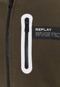Replay - Zip-up hoodie - military - 2