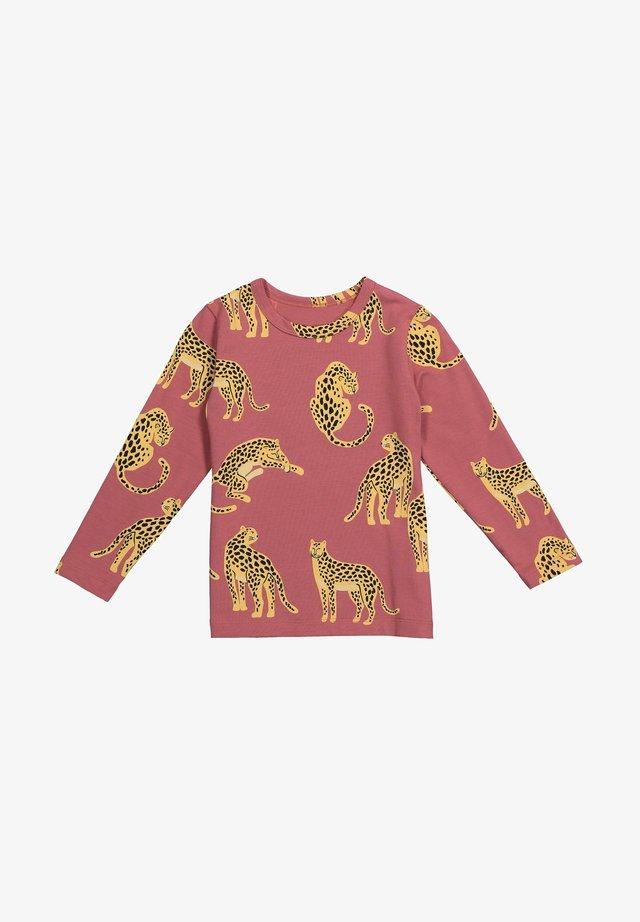 Maglietta a manica lunga - maroon