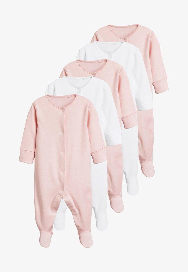5 PACK - Sleep suit - pink