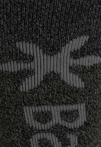 Barts - BASIC 2 PACK - Knee high socks - anthracite/black - 2