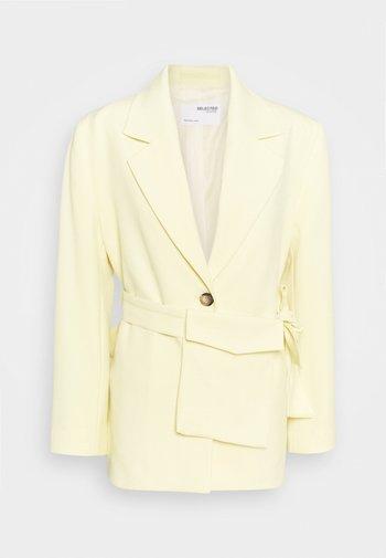 SLFMALLI LS RELAXED - Blazer - pastel yellow