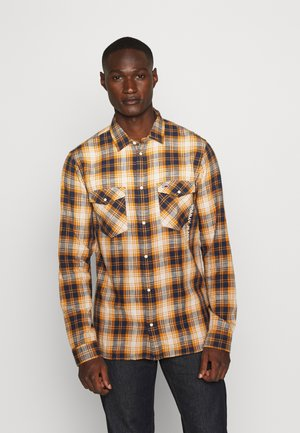 WESTERN CHECK - Camicia - spiced toddy/multi