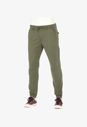 Jeans Tapered Fit - olive