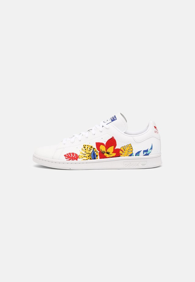VEGAN STAN SMITH - Sneakers basse - white/vivid red/core black