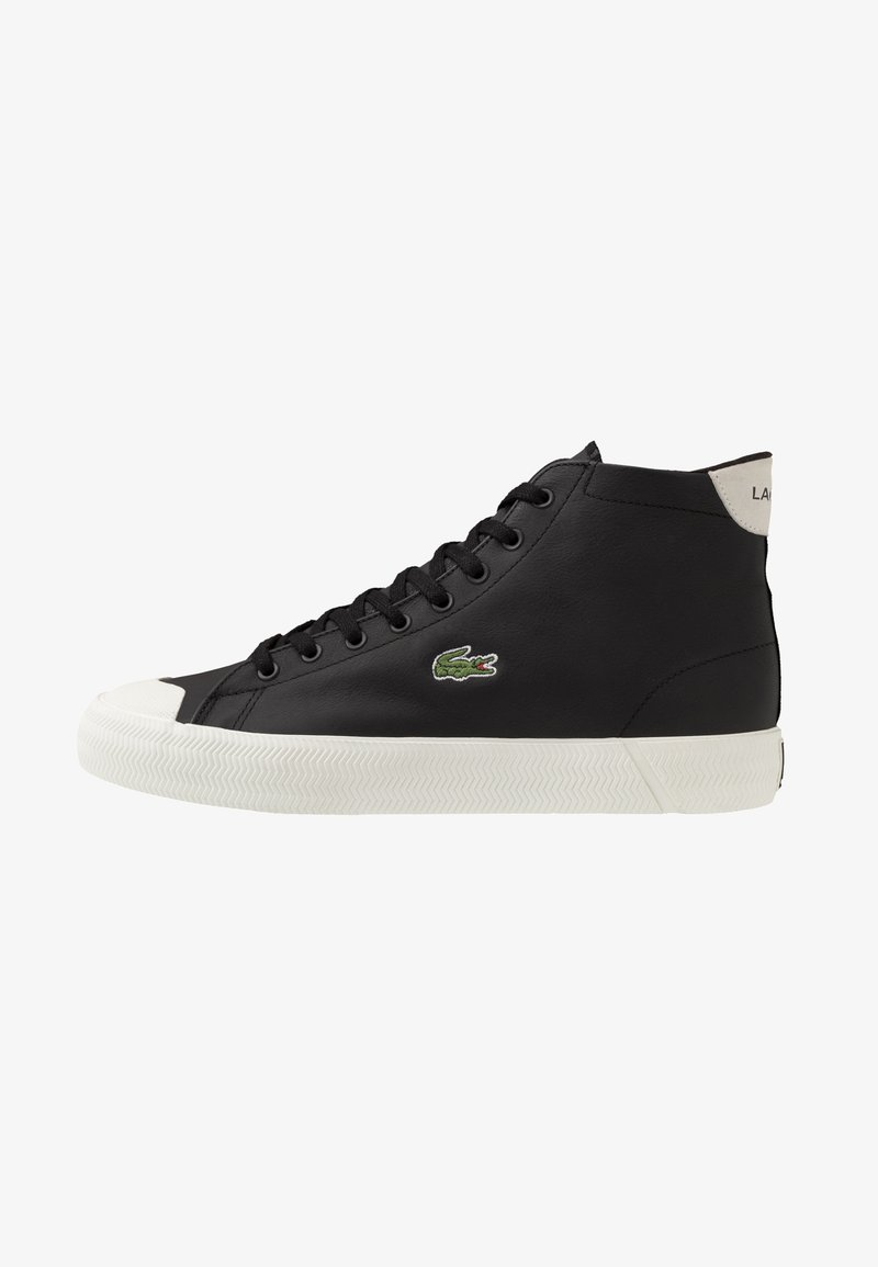 Lacoste - GRIPSHOT MID - High-top trainers - black/offwhite