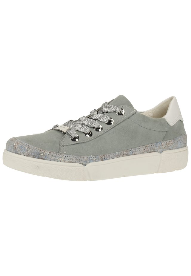 Sneakers basse - mint/weiß 18