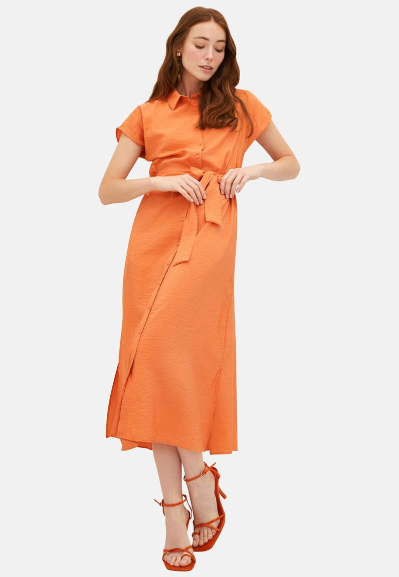 LC Waikiki - KLEID - Maxi dress - orange