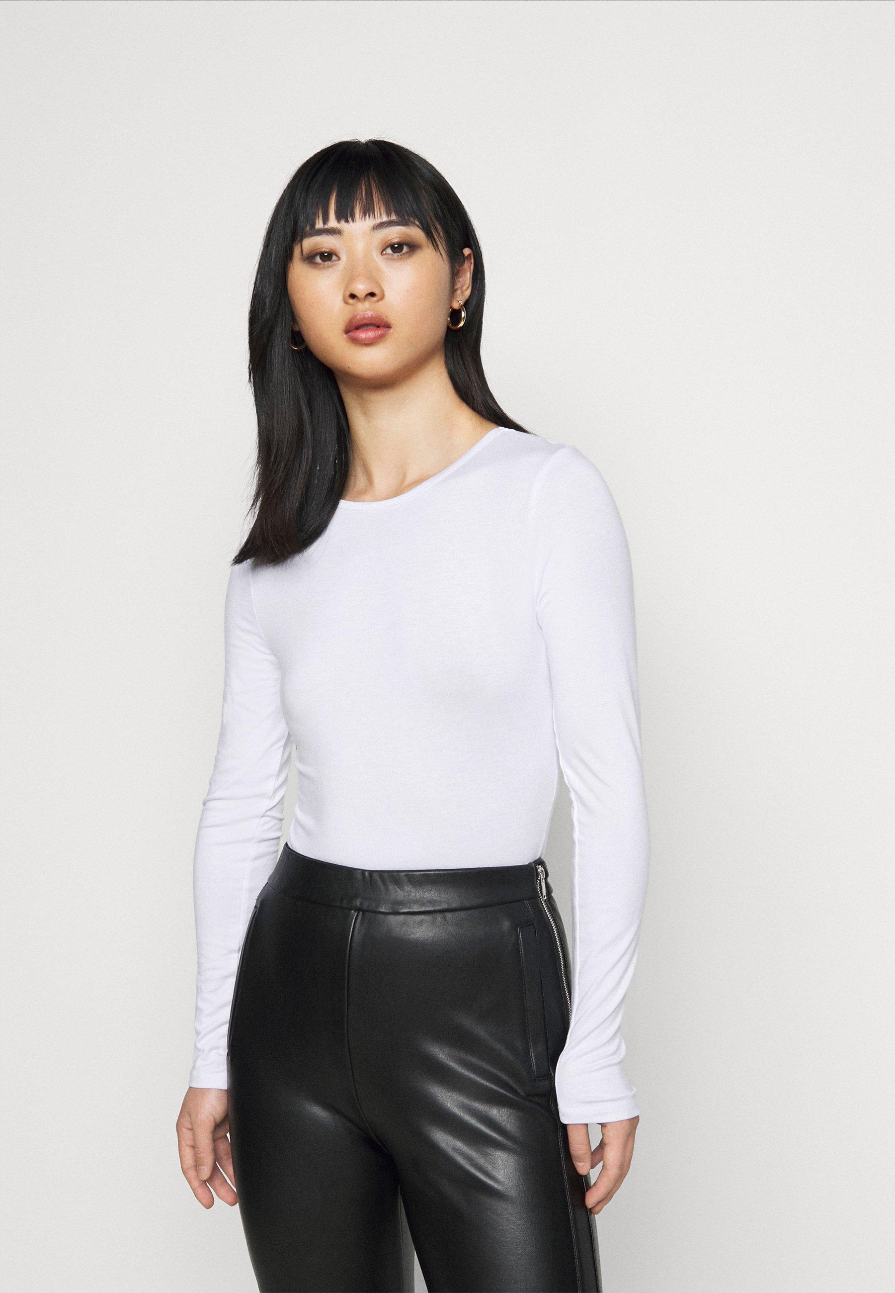 Women LONG SLEEVED BODYSUIT - Long sleeved top