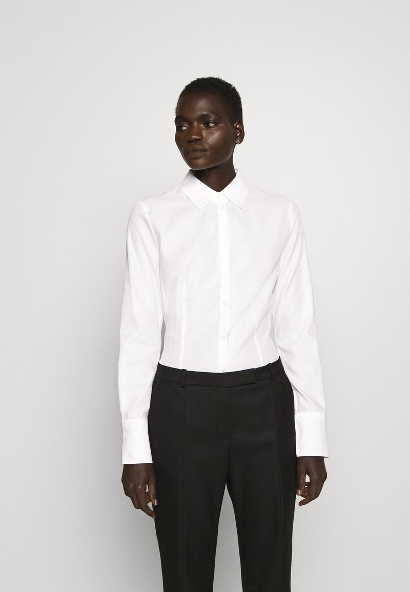 HUGO - THE FITTED - Button-down blouse - white