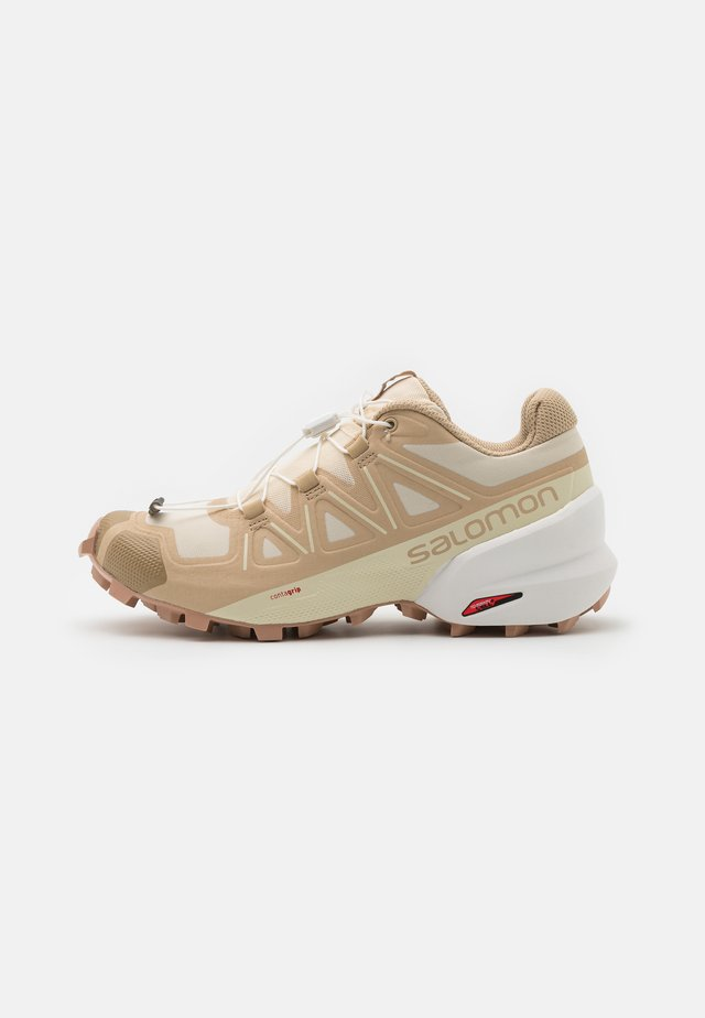 SPEEDCROSS 5 - Trail running shoes - bleached sand/white/sirocco