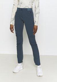 Vaude - SCOPI PANTS - Outdoor trousers - steelblue - 0