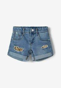 Name it - Jeans Shorts - medium blue denim - 2
