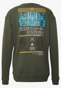 RETHINK Status - CREW NECK - Sudadera - army garment dye - 1