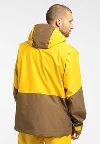 Haglöfs - LUMI JACKET - Ski jacket - pumpkin yellow/teak brown - 1