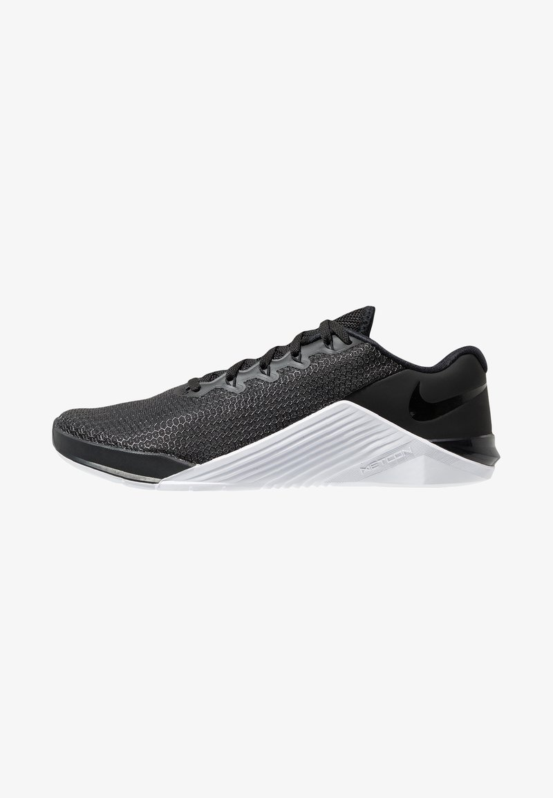 Nike Performance - METCON 5 - Treningssko - black/white/wolf grey