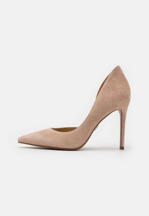 High heels - light blush