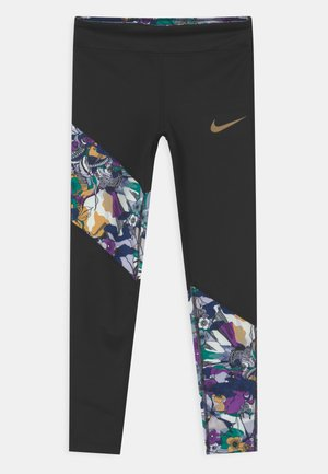 ONE - Leggings - black/multi-color