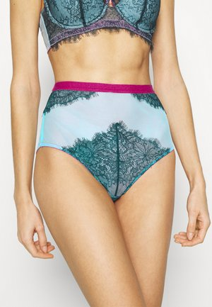 MARIA HIGH WAIST KNICKER - Boxerky - dark green
