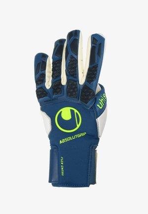 Gloves - night blau / weiss / flou gelb