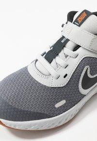 Nike Performance - REVOLUTION 5 FLYEASE - Chaussures de running neutres - light smoke grey/dark smoke grey/photon dust/medium brown - 2