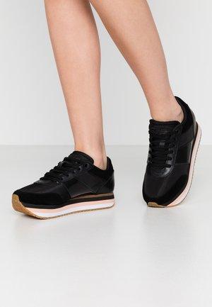 LEONORA - Baskets basses - black